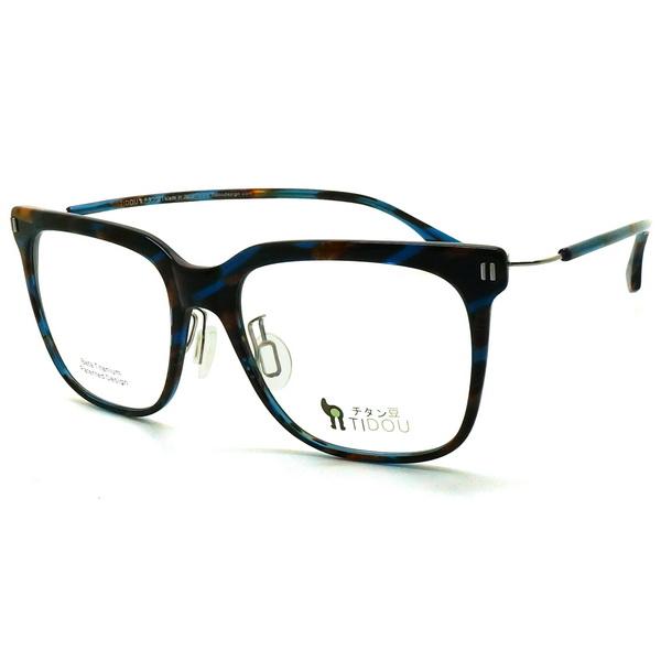【TIDOU】光學眼鏡鏡框 Centralbean A01 02 日系鈦金屬輕量設計 53mm