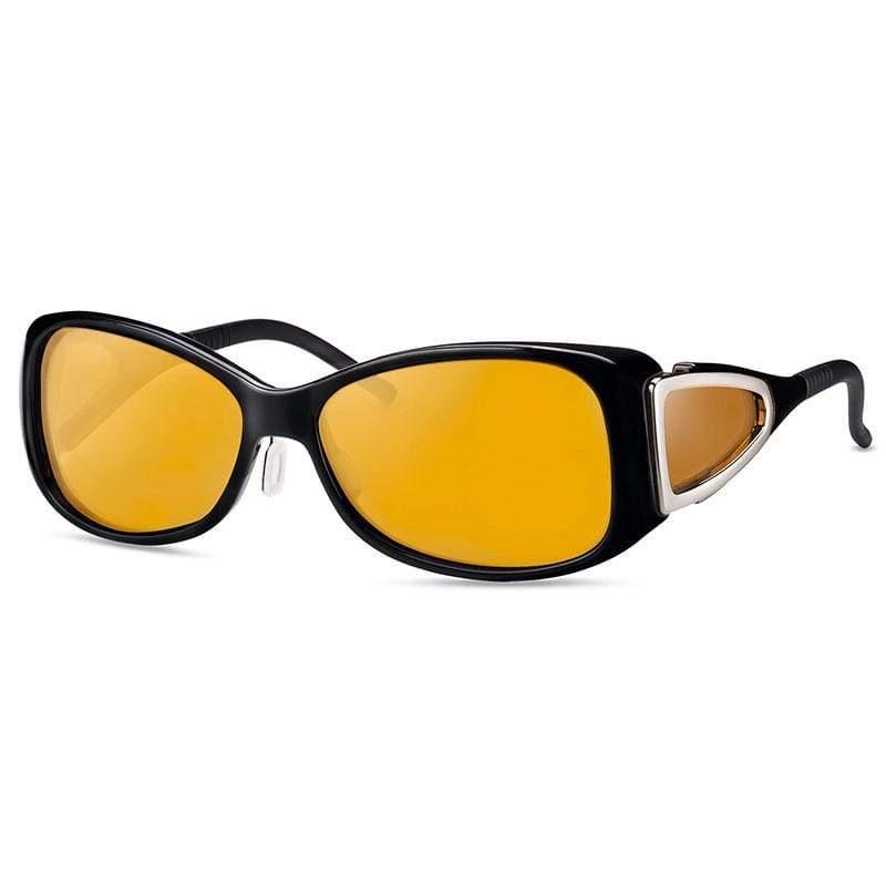 wellnessPROTECT 德國製高防護包覆式濾藍光眼鏡 15%淺茶色 女版框 (56□15-130)