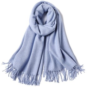 WEIJINPIJIAN ピュア肥厚スカーフ冬の女性のスカーフ (Color : 05, Size : 194cm70cm)