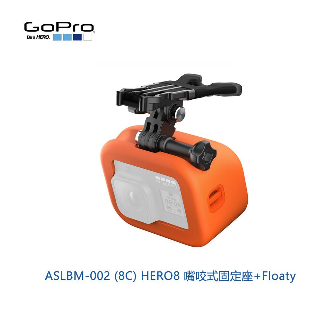GoPro ASLBM-002 (8C) 嘴咬式固定座+Floaty 原廠配件 Hero 8 適用 公司貨