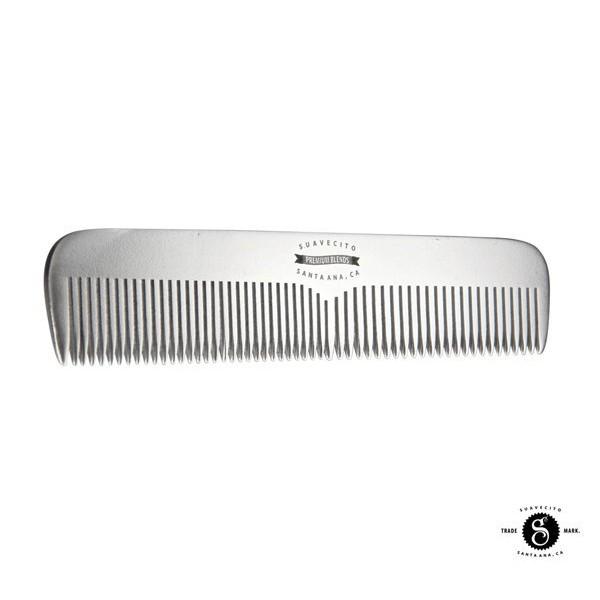 GOODFORIT / 加州Suavecito Deluxe Large Comb霧面Logo全鋁輕量寬扁梳