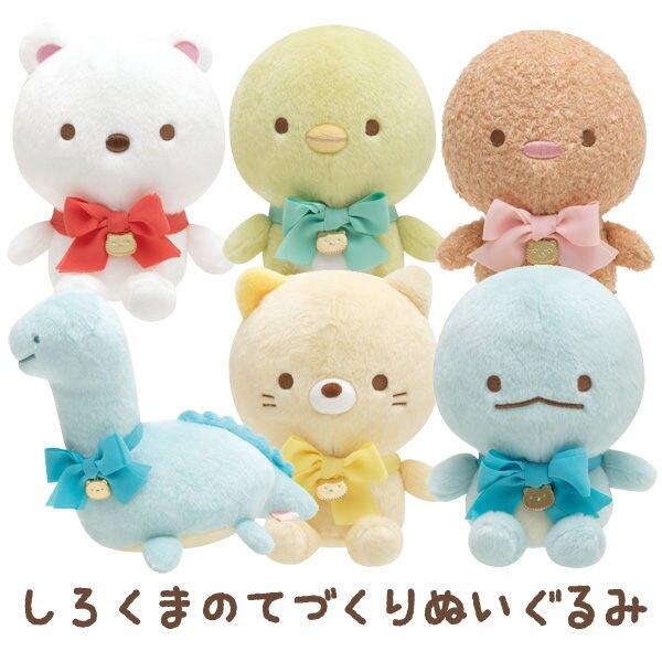 【角落生物絨毛玩偶】角落生物 手作娃娃系列 絨毛玩偶 娃娃 日本正品 該該貝比日本精品 ☆