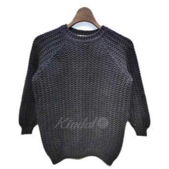 VONDEL ラグランスリーブニットセーター ネイビー サイズ:S (栄店) 191028
