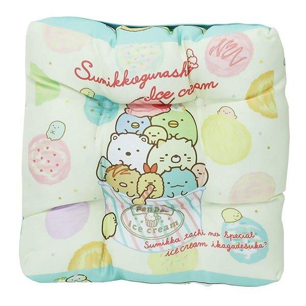 【角落生物 椅墊】角落生物 椅墊 舒服柔軟 冰淇淋系列 日本正品 該該貝比日本精品 ☆