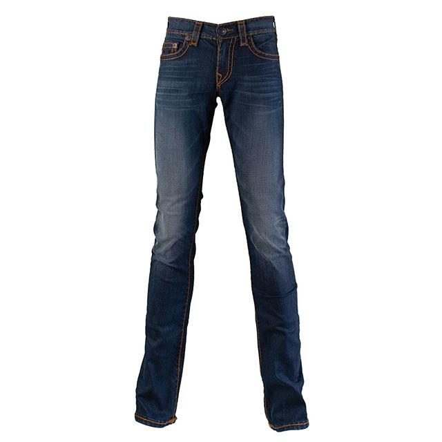 【美國True Religion】男GENO SPT 修身牛仔褲-PETROL BLUE