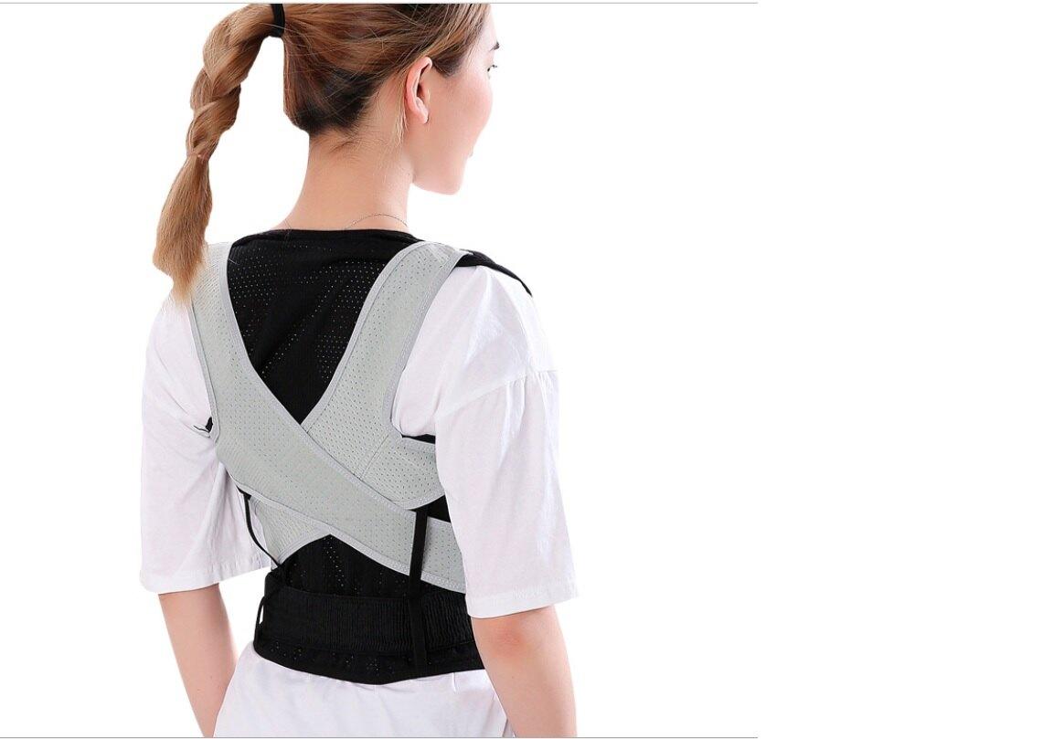 透氣型 雙Y交叉型防駝背心 超薄矯正帶 駝背帶 挺胸塑腹帶 美胸帶 束腰帶 束帶 脊椎矯姿帶 托胸帶