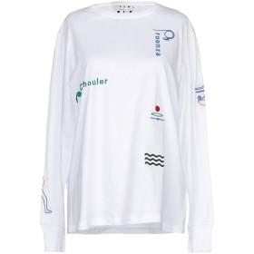 《セール開催中》PROENZA SCHOULER PSWL レディース T シャツ ホワイト XS コットン 100%