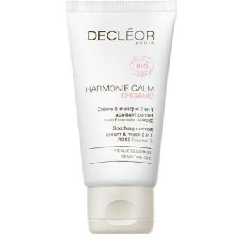 デクレオール Harmonie Calm Organic Soothing Comfort Cream & Mask 2 In 1 - For Sensitive Skin 50ml/1.8oz並行輸入品