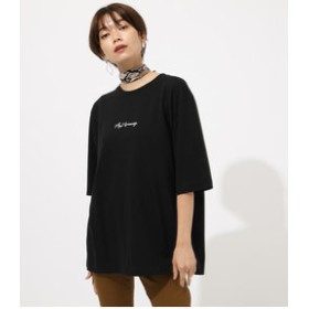 【AZUL by moussy:トップス】EMBROIDERY Azul by moussy TEE
