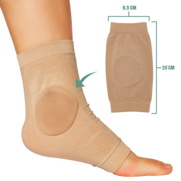 【JHS杰恆社】熱銷爆款亞馬遜冰鞋襯墊矽凝膠套護腳後跟保護套abe79