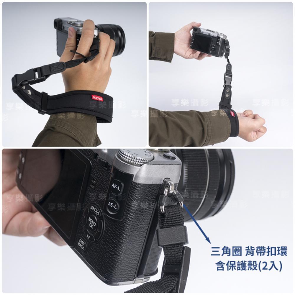 [享樂攝影]CADEN 快拆式減壓手腕繩/手腕帶 加厚潛水布 真皮墊 快拆快扣設計 減壓 防丟 防掉 相機 微單