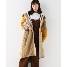 BONUM 3WAY LONG NYLON PARKA ベージュ フリー
