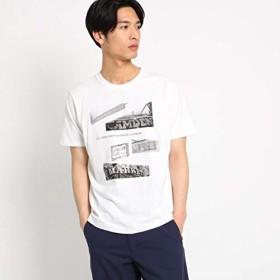 (ザ ショップ ティーケー) THE SHOP TK フォトプリントTシャツ 61626621 03(L) オフホワイト(003)