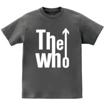 [10色]BANDLINE(バンドライン) The Who ザ フー バンド ロック パンク メタル 半袖Tシャツ チャコール XLサイズ