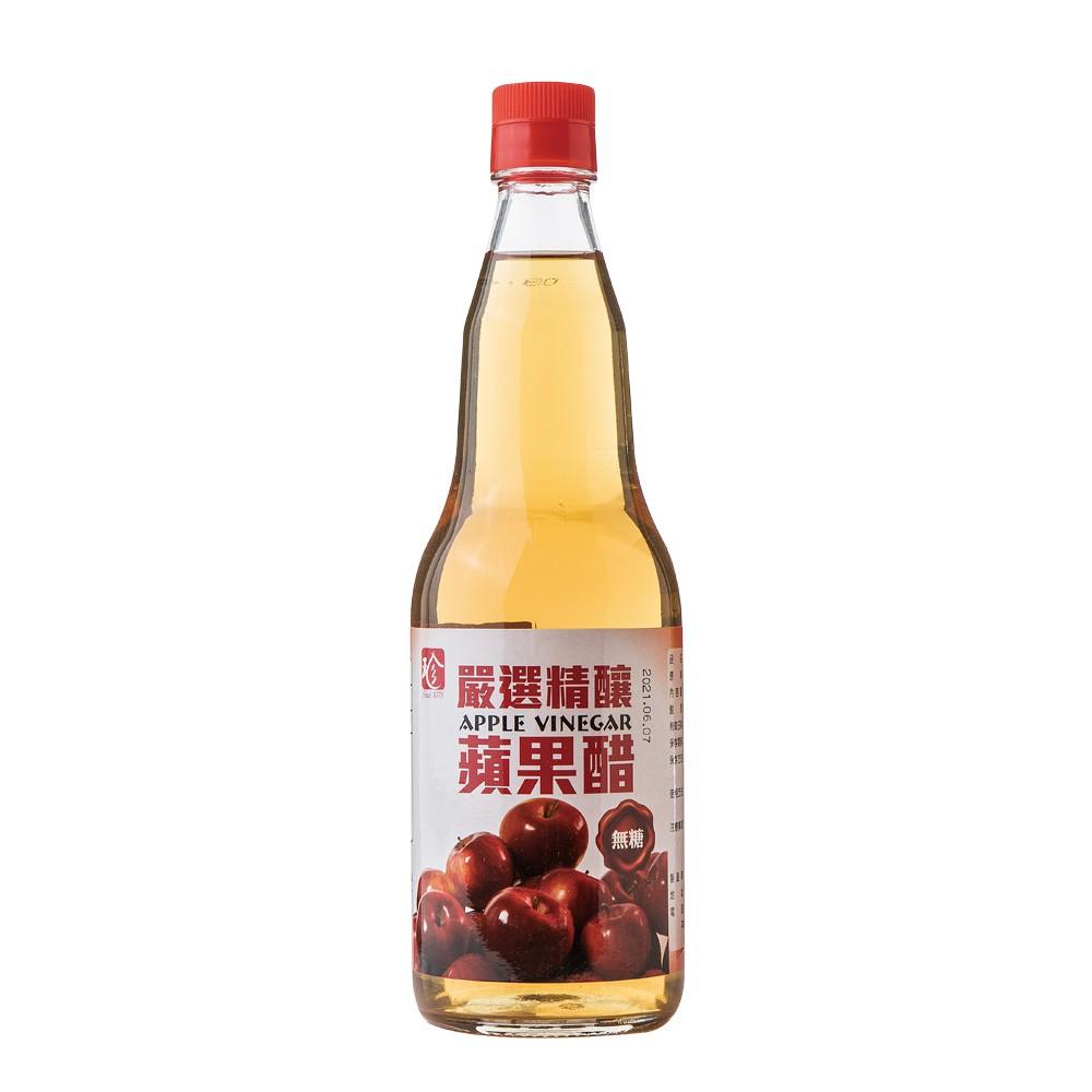 【百家珍】嚴選精釀無糖蘋果醋600mL