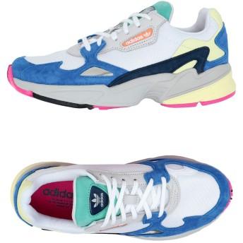 《セール開催中》ADIDAS ORIGINALS レディース スニーカー&テニスシューズ(ローカット) ホワイト 8 革 / 紡績繊維 FALCON