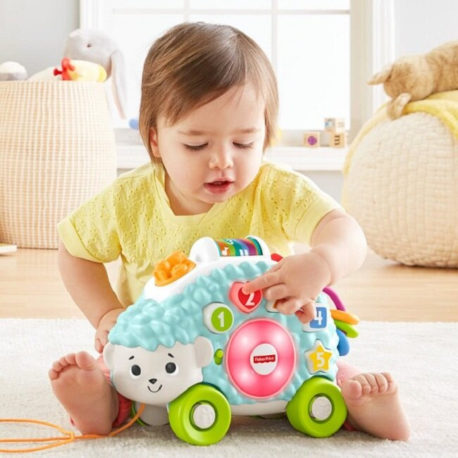 Fisher-Price 費雪 LINKIMALS聲光學習小刺蝟/9M-FEAFYK58F