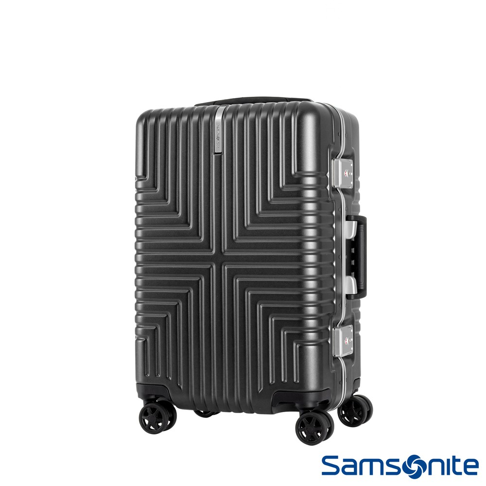 Samsonite新秀麗 20吋Intersect 高質感PC鋁框硬殼TSA登機箱(多色可選)