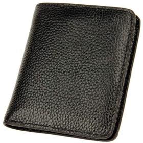 Anamony 女性のための財布かわいいミニ財布折りたたみ財布ファッションギフトに最適ファッションパッケージ (色 : 黒)