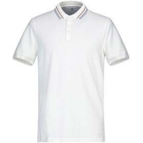 《セール開催中》BRUNELLO CUCINELLI メンズ ポロシャツ アイボリー S コットン 100%