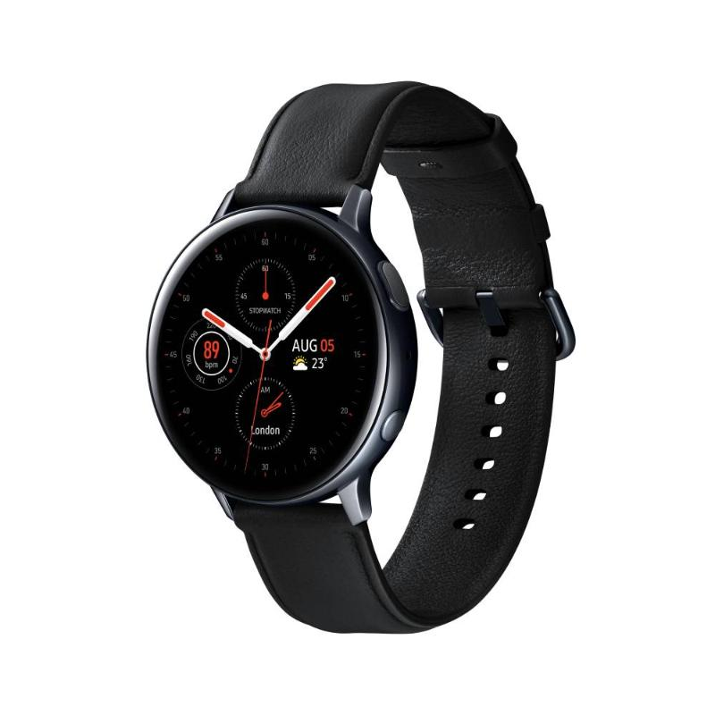 SAMSUNG Galaxy Watch Active2 GPS藍牙智慧手錶 不鏽鋼 44mm午夜黑(R820)