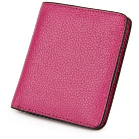 Anamony 女性のための財布かわいいミニ財布折りたたみ財布ファッションギフトに最適ファッションパッケージ (色 : 紫の)