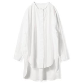 アヴェクモワ ロングシャツ〈白〉 フェリシモ FELISSIMO【送料無料】