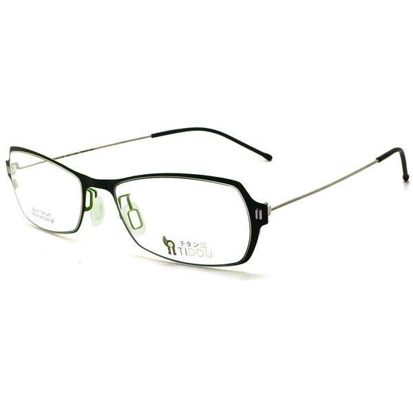 【TIDOU】鈦豆 光學眼鏡鏡框 T07 jellybean 日系鈦金屬輕量設計 54mm