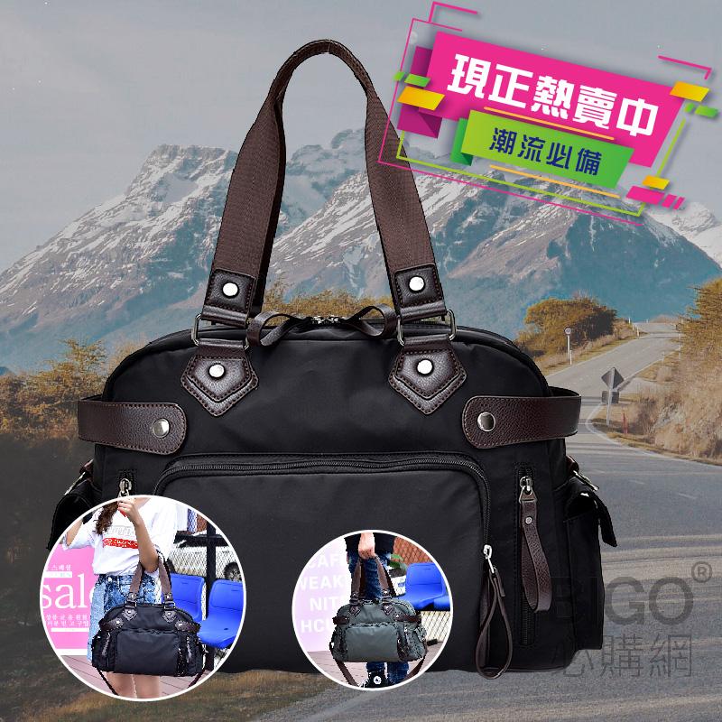 年度最新韓款🔥 時尚牛津手提包 黑色 手提 側背 肩背 背包 休閒包 手提包 商務包 超大容量 時尚包包 實用包包