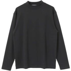 [アーバンリサーチ] tシャツ スムースモックネックカットソー メンズ BLACK L
