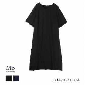 シフォンジョーゼットワンピース【LL~5L】