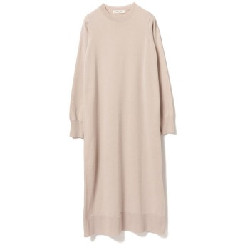 【40%OFF】 ビームス アウトレット Demi Luxe BEAMS / クルーネック ニットワンピース レディース SMOKY_PINK ONESIZE 【BEAMS OUTLET】 【セール開催中】