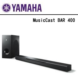 【YAMAHA】前置環繞劇院系統  MusicCast BAR 400