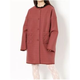 merry jenny flowerポケットcoat(オレンジ)
