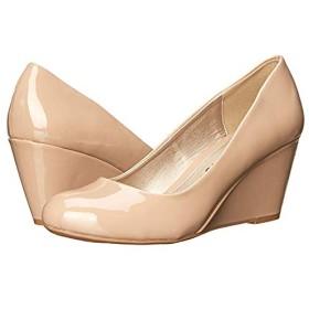 [ダーティーランドリー] レディースヒール・パンプス・靴 DL Not Me Wedge Pump Nude (27cm) M [並行輸入品]