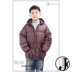 【JORDON】男童 雙面穿 極暖羽絨外套201