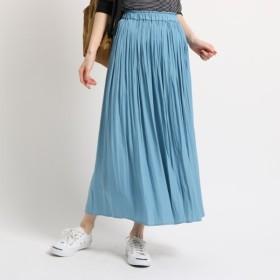 [マルイ]【セール】◆【洗える】パウダーサテンギャザーロングスカート/デッサン(レディス)(Dessin Ladies)