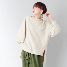 [マルイ] 裏毛ビッグスリーブTシャツ/オズモーシス(OSMOSIS)