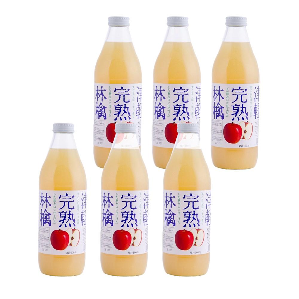 (組)日本青森完熟蘋果汁1L 6入組