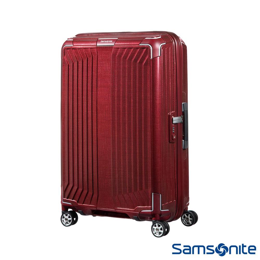 Samsonite新秀麗 28吋Lite-Box耐衝擊Curv垂直線條行李箱(多色可選)