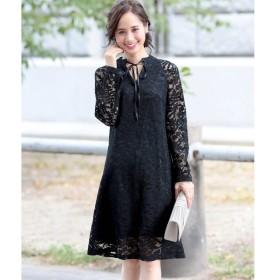 [マルイ]【セール】総レースワンピースドレス・結婚式ワンピース・お呼ばれパーティードレス/ドレススター(DRESS STAR)