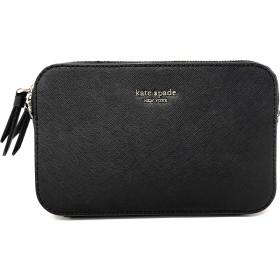 ケイト・スペード ニューヨーク キャメロン ダブルジップ スモール クロスボグ バッグ カラー: ブラック