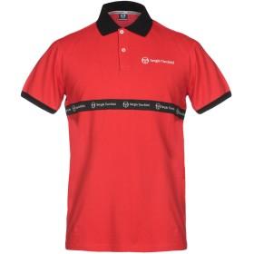 《セール開催中》SERGIO TACCHINI メンズ ポロシャツ レッド S コットン 100%