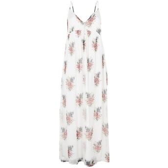 《セール開催中》ANIYE BY レディース ロングワンピース&ドレス ホワイト M レーヨン 100%