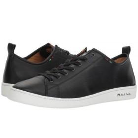 [ポール・スミス] メンズ 男性用 シューズ 靴 スニーカー 運動靴 Miyata Sneaker - Black UK 7 (US Men's 8) M [並行輸入品]