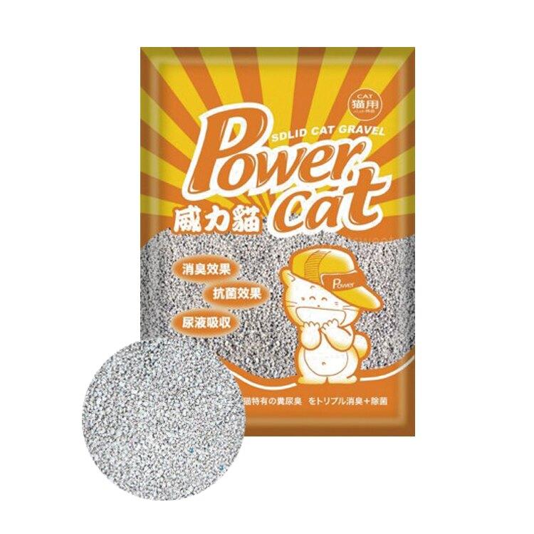 威力貓消臭抗菌礦砂8磅-細顆粒/粗顆粒