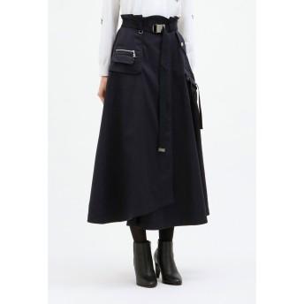 LOVELESS 【LOVELESS×otona MUSE】ポケットディティール マキシスカート その他 スカート,ネイビー