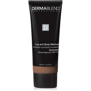 ダーマブレンド Leg and Body Makeup Buildable Liquid Body Foundation Sunscreen Broad Spectrum SPF 25 - #Deep Golden 70W 100ml/3.4oz
