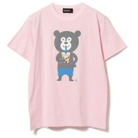[マルイ] The Wonderful! design works / タピオカ Bear Tee/ビームス(BEAMS)