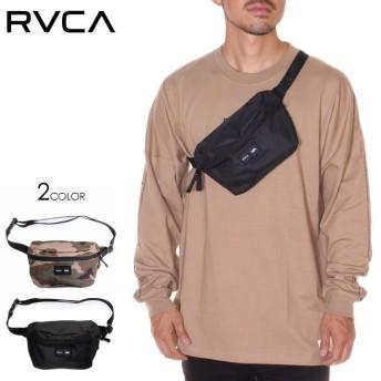 RVCA ルーカ バッグ メンズ WAIST PACK 2019秋冬 ブラック/カモフラージュ ワンサイズ